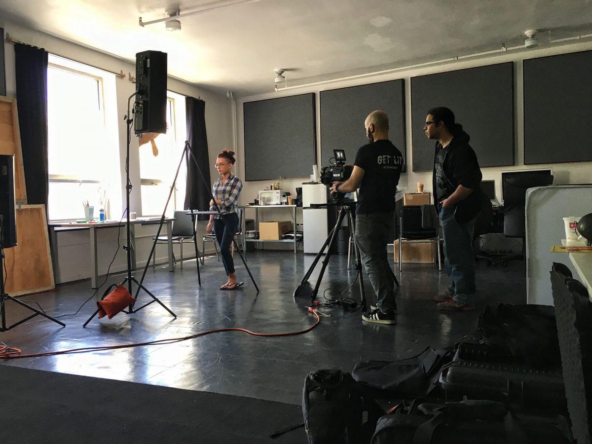 Behind The Scenes In The Studio