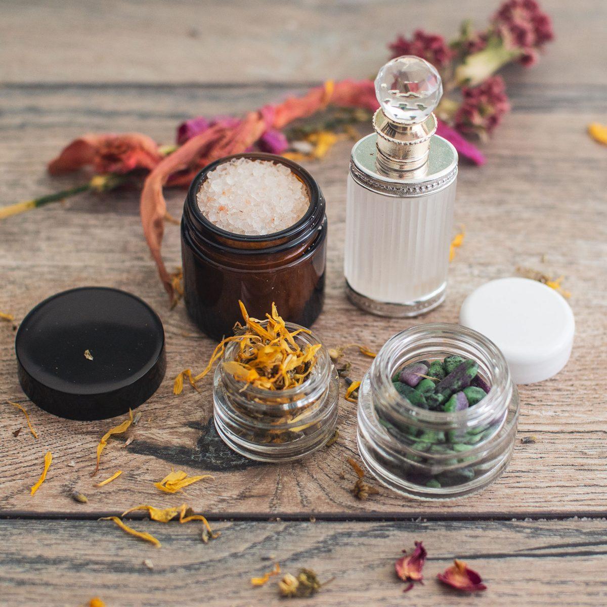 The Parfumerie Jars